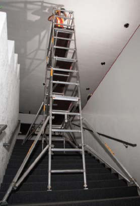 Stairwell Scaffold