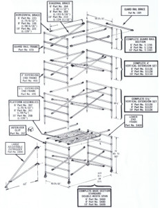 Single Width Diagram
